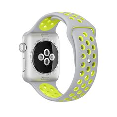 Apple Watch Band, Designed specifically for 42mm Apple watch series 1 & series 2, made from durable, flexible, lightweight soft silicone (TPU), very comfortable to wear for sports, sweatproof.