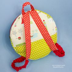 Baby Cute Backpack PDF Pattern