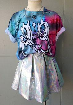 Hologram Skirt