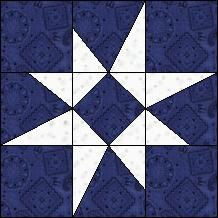 Free quilt every day this is the Block of Day for March 29, 2014 ... : north star quilt block - Adamdwight.com
