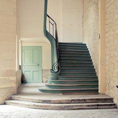 Folie-Méricourt Quarter, Rue Amelot, Stairs, Paris XI
