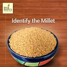Can you identify the millet you see in the picture? Answer in the comments below. Eating Organic, Healthy Eating, Healthy Recipes, Canning, Vegetables, Food, Eating Healthy, Home Canning, Veggies
