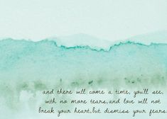 After The Storm, Mumford and Sons, Print 8x10; etsy