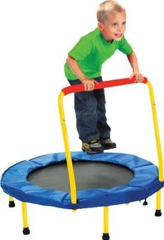 Mini Trampoline, Keep Fit for Little Ones. Fold & Go Trampoline. A great kid's mini trampoline for indoors and outside. Kids Indoor Trampoline, Toddler Toys, Kids Toys, Toddler Preschool, Toddler Activities, Thing 1, Outdoor Toys, Home Decor Ideas, Autos