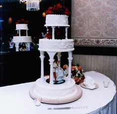 My Cinderella Wedding cake