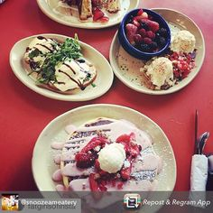 #repost @snoozeameatery #bestbreakfast#brunch#eggs#pancakes#bloodies#mimosas#eats#eat#eating#foods#food#foodie#foodporn#restaurant#eatout#freshfood#coffee#breakfast#snooze#eating#drinking#yum#yummy#delish#bragyourplate Snooze is my favorite breakfast restaurant of all time. Based out of Denver, the home of my heart. The countdown begins until they open in my town. #gilbert#downtowngilbert @gilbertdailyprss @gilbertnow For more fun food posts, follow me @foods_and_fun