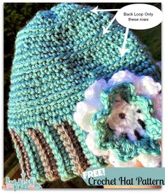Crochet How To Free Cloche Hat Pattern