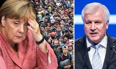 ANGELA Merkel's own party is revolting against her as .the leader jetted off to China instead of dealing with German politics following a worrying election defeat.16