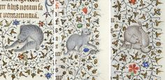 Cats bein' cats in medieval illuminations. Or, as Google helpfully suggested: indifferent-cats-in-illuminated-manuscripts