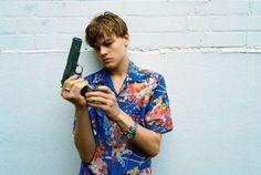 Leonardo DiCaprio in Baz Luhrman's Romeo + Juliet (1996)