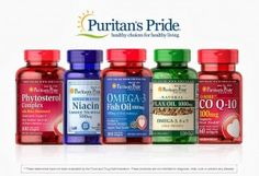 Giveaway Ends 2/25! Low Entries! Puritan's Pride Giveaway and Review - MomsMissionToSave.com