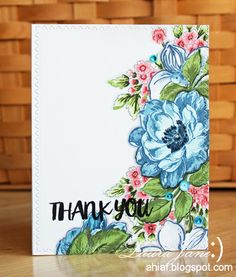 After-Hours Ink & Flowers: Altenew Challenge: Navy and Coral