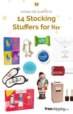 These awesome stocking stuffer ideas are a great way to make her smile this holiday season!
