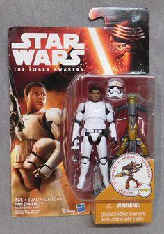 STAR Wars Set di 3 18 pollici BIG BLASTER Figure inclusi Finn /& JYN Luke Skywalker