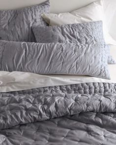 I better not let this one sell out before i buy it! LOVE - Eileen Fisher Seed-Stitch Quilt and Sham