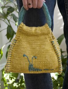 Free Knitting Pattern for this adorable purse!