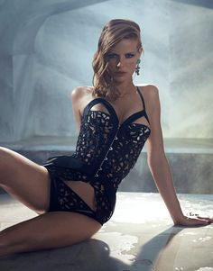 OMG, must have Agent Provocateur Soiree Collection A/W 2014: Odella Corset