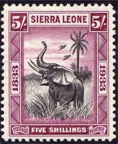 Sierra Leone Stamp. More about stamps: http://sammler.com/stamps/