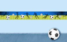 Bordüre: Fußball • Mein Bordürenladen - Dawanda