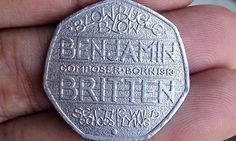 I got a Benjamin Britten 50p coin, is it worth thousands of pounds?