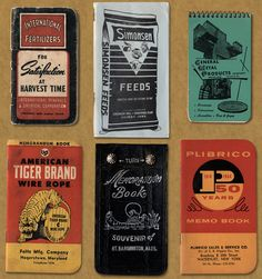Vintage American Memo Graphics – Field Notes X Aaron Draplin…