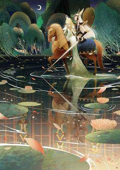 Anime Artwork, Mythical Creatures, Amazing Art, Character Art, Fantasy Art, Illustration Art, Digital Art, Ireland, Drawings