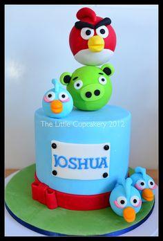 https://flic.kr/p/dPBz5K | Angry Birds Cake | Joshua's Birthday Cake...