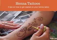 The art of henna and how to get started on your henna tattoo Camping Crafts, Types Of Art, Craft Activities, Henna, How To Find Out, Arts And Crafts, Tattoos, Tips, Blog