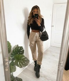 Winter Fashion Outfits, Spring Outfits, Sporty Fashion, Mod Fashion, Trendy Fashion, Fashion Women, Cute Casual Outfits, Stylish Outfits, Vetement Fashion