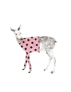 how lovely you look in pretty pink polka dots.