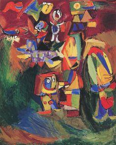 Asger Jorn - Feligrams, 1942