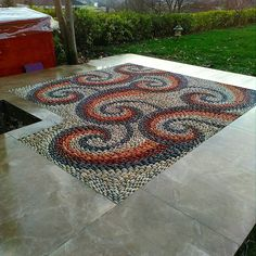 "Sinan Sensoy on Instagram: ""#pebblemosaic #çakılmozaik#podimadöşeme #peyzaj #highend #podima#luxury #garden #landscape #peyzaj #"" Stone Mosaic, Land Scape, Rugs, Instagram, Home Decor, Farmhouse Rugs, Decoration Home, Room Decor, Home Interior Design"