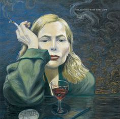 Joni Mitchell - self-portrait