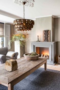 Building A False Chimney Breast To House The Stove Box External Pictures My Living Room, Home And Living, Living Spaces, Interior Design Inspiration, Home Decor Inspiration, Chimney Breast, Wabi Sabi, Beautiful Homes, Family Room