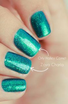 Zoya Charla & Orly Halley's Comet dupe!