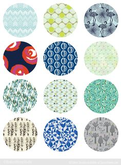 12 Beautiful Fabric Designs for Bags and Purses from Spoonflower Designers | Radiant Home Studio