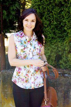Tasias ärmelloses Granville Shirt - muss ich mir für den Sommer merken!