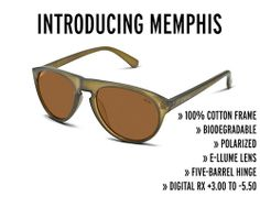 d49dcf5d99 Welcomes MEMPHIS To Its Biodegradable Crafted Sunglass Collection