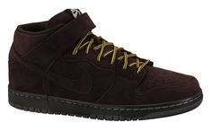 half off a15eb 8d573 Nike SB Dunk Mid Premium Dark Chocolate Nike Sb Dunks, Mocha, All Black  Sneakers