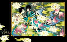 Download xxxHOLiC: xxxHolic Rei Illustration 1 (1920x1200) - Minitokyo