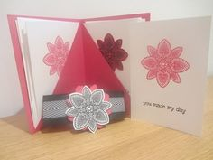 ▶ Hand made note card gift set with Stampin' Up Petal Potpourri - YouTube