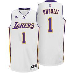 fcf2fbc9c33 D Angelo Russell Los Angeles Lakers adidas Swingman Alternate Jersey