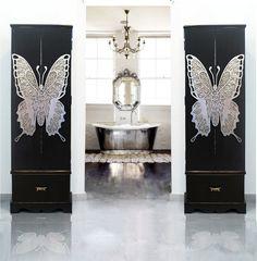 ESTUDIO DELIER | Armario joyero mariposa, muebles #armarios, mas info en tienda online muebles
