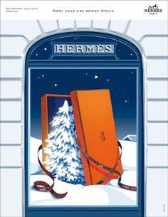 Hermès - campagne de publicité / ad campaign - Noël 2013 - Publicis & Nous - sapin - by Dimitri Rybaltchenko