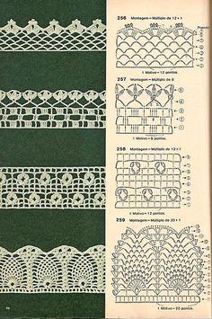 Bico de crochê, era o tipo de trabalho que muitas mulheres faziam na hora de ver a novela. Muitas de nossas avós e mães ainda o fazem. Eu, por exemplo...