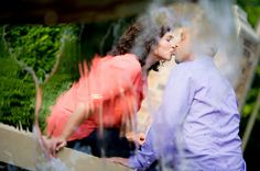 Chicago Wedding Photographer | J. Brown Photography  Chicago engagement session at Chicago Women's Park in the South Loop.