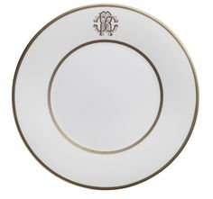 ROBERTO CAVALLI SILK GOLD: PIATTO FRUTTA/DESSERT PLATE - Ø 22 CM RCHPSIG02: Pinned to Pinterest by Anna Winston from ALL THE THINGS THAT COULDN'T BE, a novel by American author M.L. Cady. #AT3CB