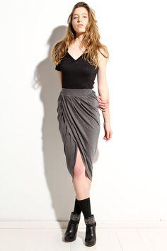Womens shift skirt Intermix grey m by lamixx on Etsy