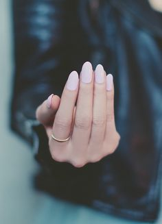 Subtle and delicate pastel pink in a creamy opaque nail polish. From our ballerina inspired collection called Take A Bow. | NCLA