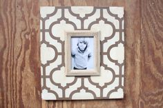 Morocco Frame 5x7 Hand painted, Handmade with Love to be given as a GIFT of LOVE. HO HO HO!